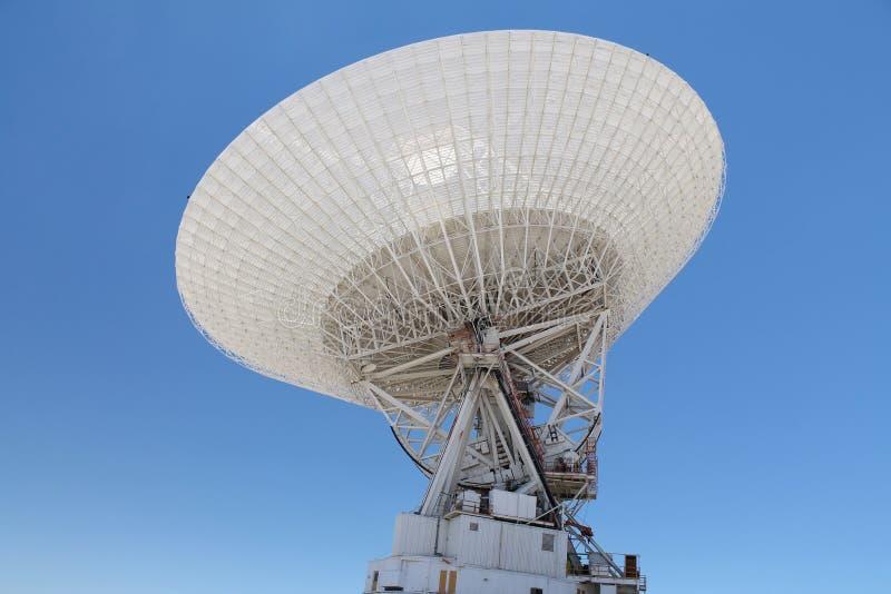 Il Goldstone della NASA 70 metri di stazione spaziale profonda immagine stock libera da diritti