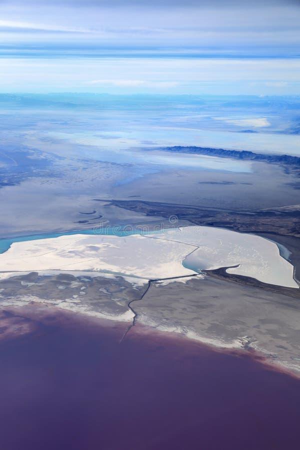 Il Gran Lago Salato, Utah fotografia stock libera da diritti