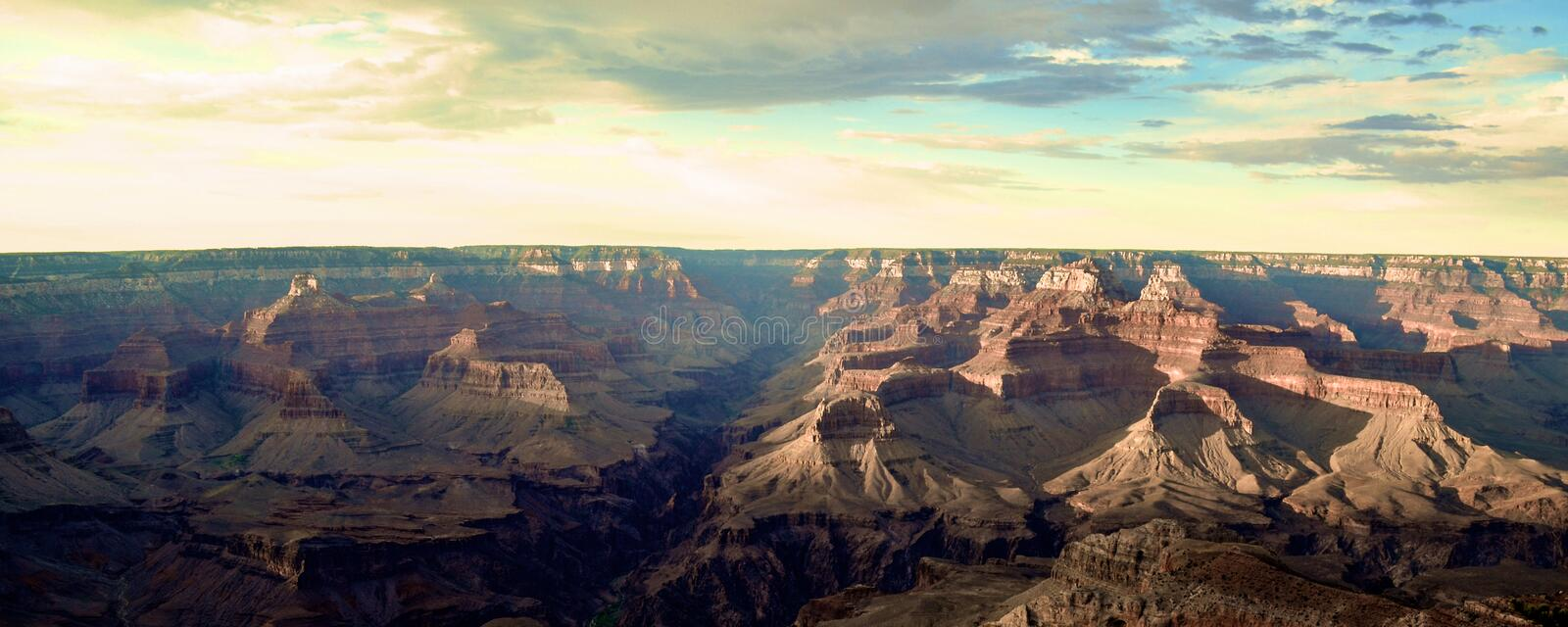 Il Grand Canyon fotografia stock
