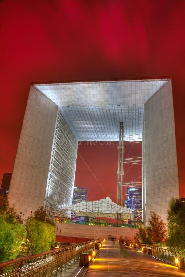 Il grande Arche, difesa della La, Parigi