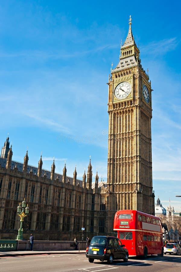 Il grande Ben, Londra, Regno Unito. immagine stock