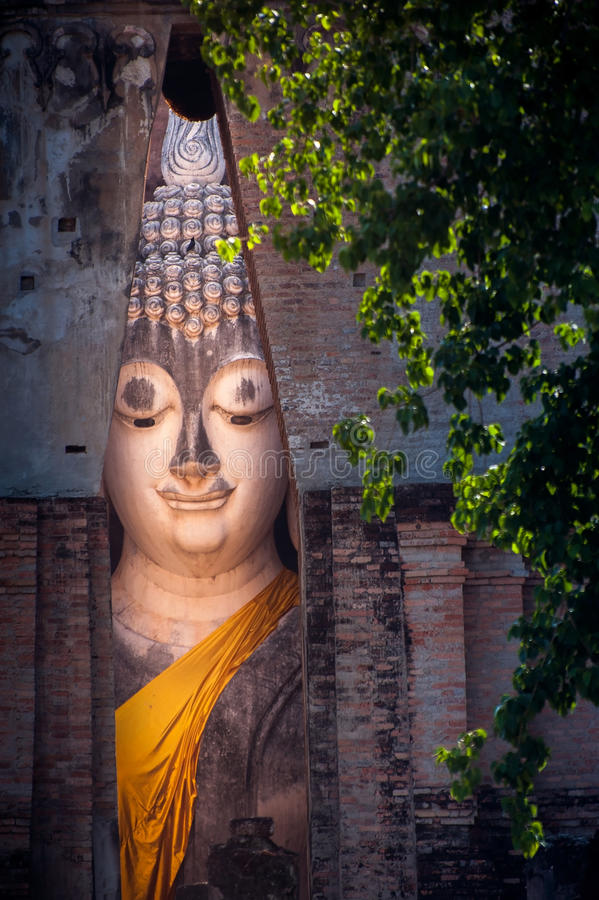 Il grande Buddha, in tempio dell'amico di Sri immagini stock libere da diritti