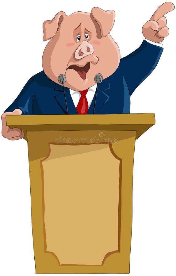 Il grande dictator illustrazione di stock