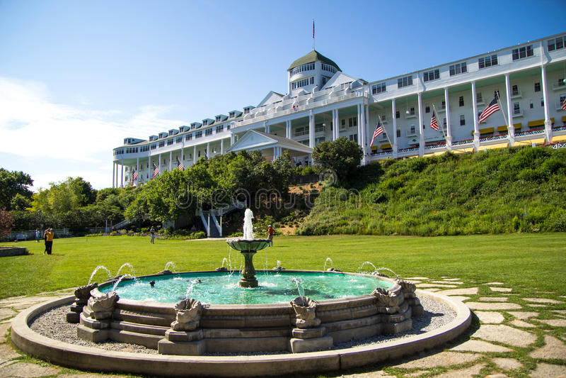 Il grande hotel fotografia stock libera da diritti