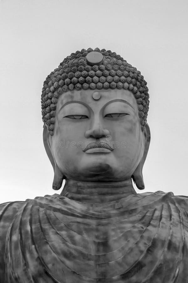 Il grande Hyogo Buddha a Kobe, Giappone immagini stock