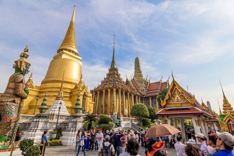 Il grande palazzo, Bangkok fotografie stock libere da diritti