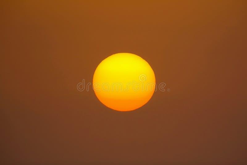 Il grande Sun fotografia stock