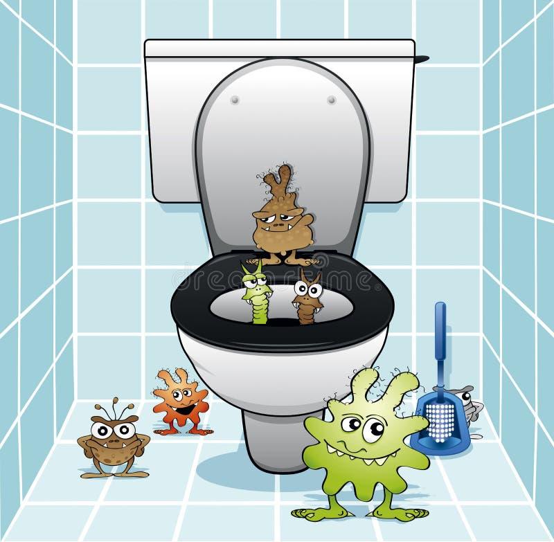 Il gruppo della toilette royalty illustrazione gratis