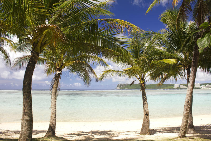Il Guam S.U.A. fotografia stock libera da diritti