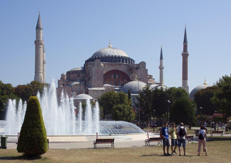 Il Hagia Sophia, Costantinopoli fotografia stock libera da diritti