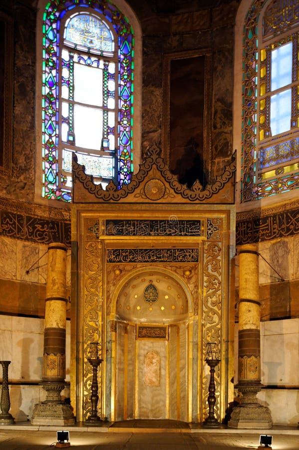 Il Hagia Sophia, Costantinopoli, Turchia immagini stock