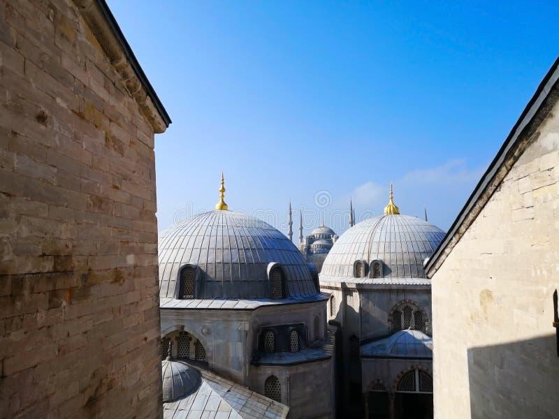 Il Hagia Sophia di Costantinopoli, Turchia 30 marzo 2018: L'immagine immagini stock libere da diritti