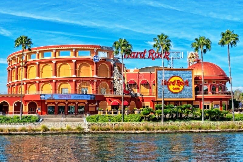 Il Hard Rock Cafe alla località di soggiorno dello studio universale a Orlando, Florida fotografia stock