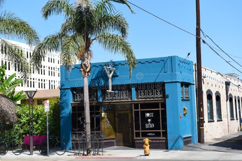 Il Hayden House, Long Beach la Californie photo stock