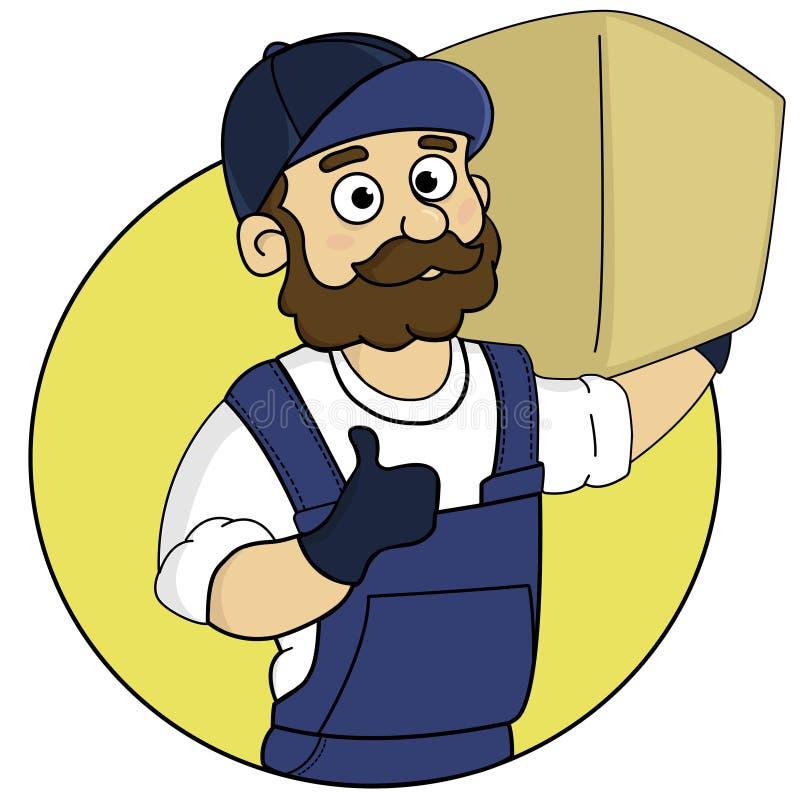 Il holh del caricatore la scatola illustrazione di stock