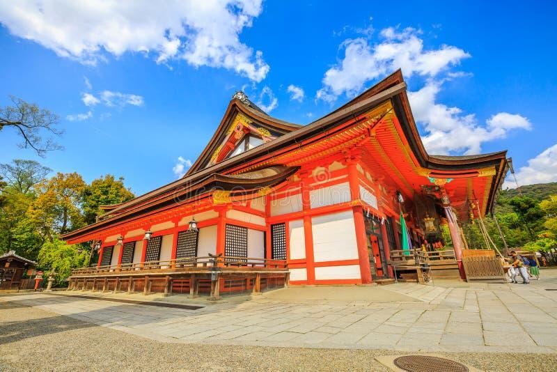 Il Honden del santuario di Yasaka fotografia stock