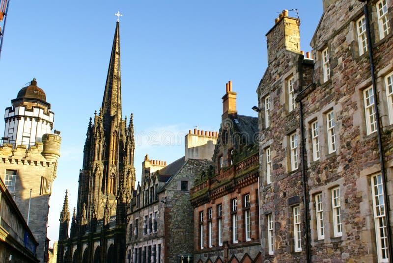 Il hub e camera obscura a Edimburgo, Scozia fotografia stock libera da diritti