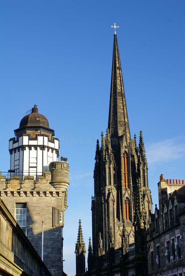 Il hub e camera obscura a Edimburgo, Scozia fotografie stock