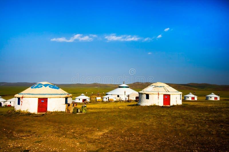 Il Inner Mongolia Yurt immagini stock