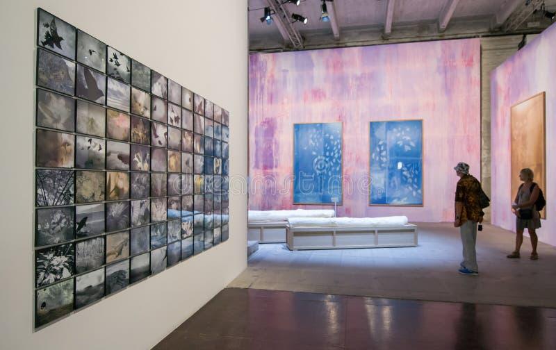 Il ` Italia di Viva Arte Viva del ` di Venezia dei Di di Biennale immagini stock libere da diritti