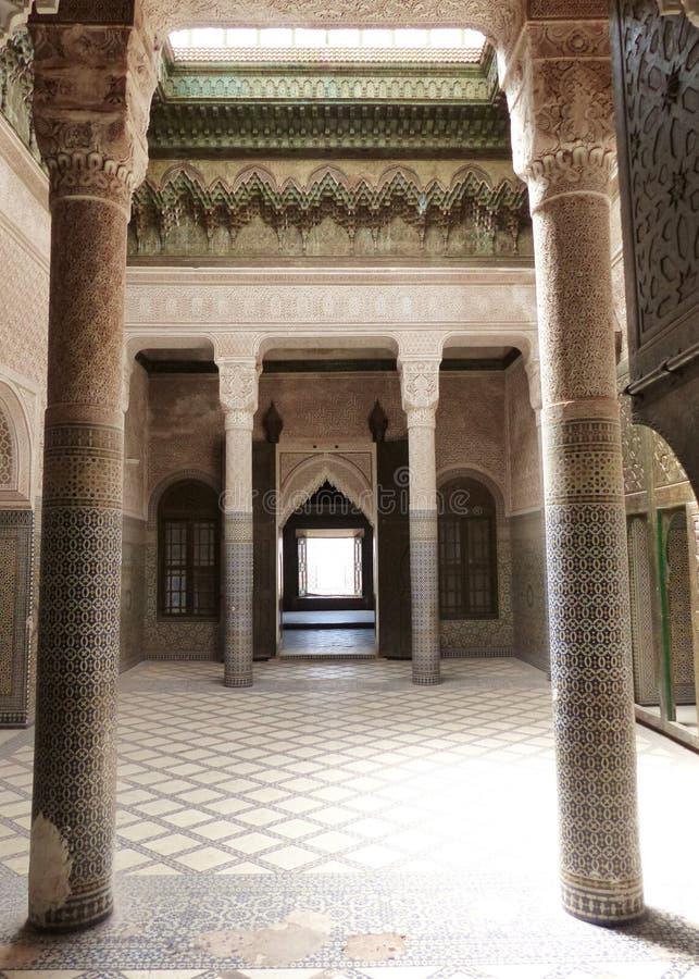 Il Kasbah a Telouet fotografie stock