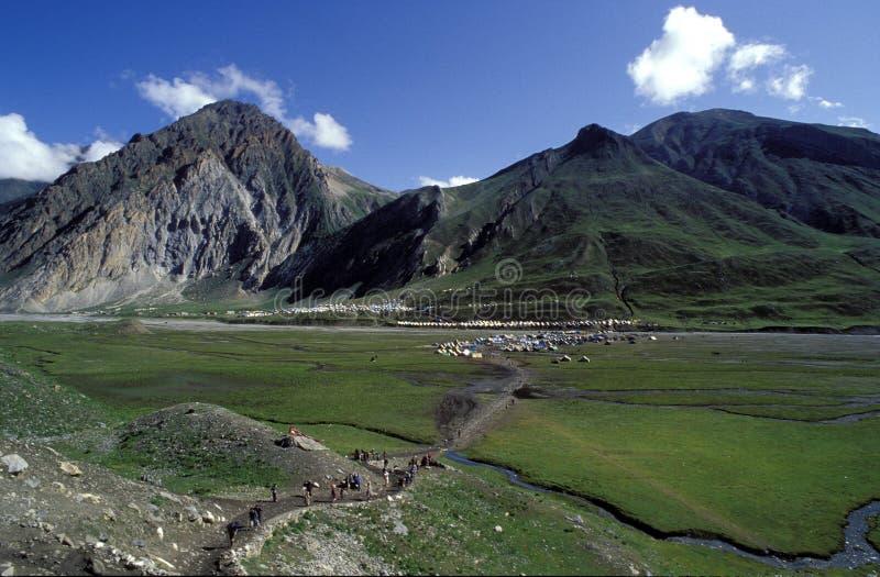 Il Kashmir fotografie stock libere da diritti
