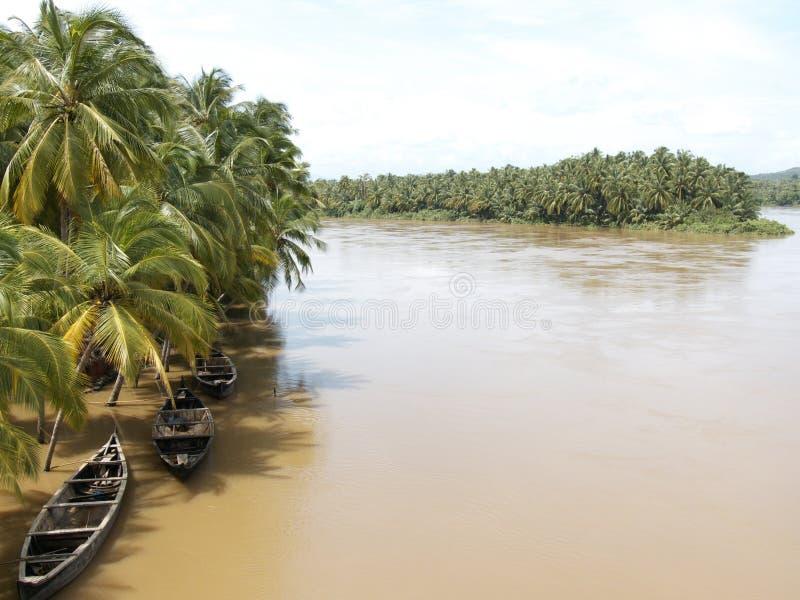 Il Kerala piovoso immagine stock libera da diritti