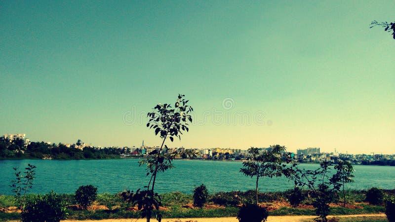 Il lago di benevolenza e di pace fotografia stock libera da diritti