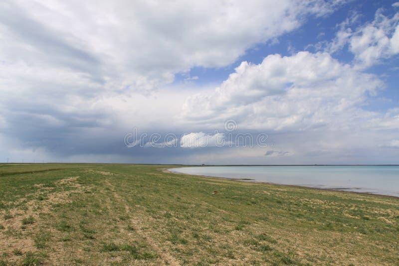 Il lago di Qinghai fotografie stock libere da diritti