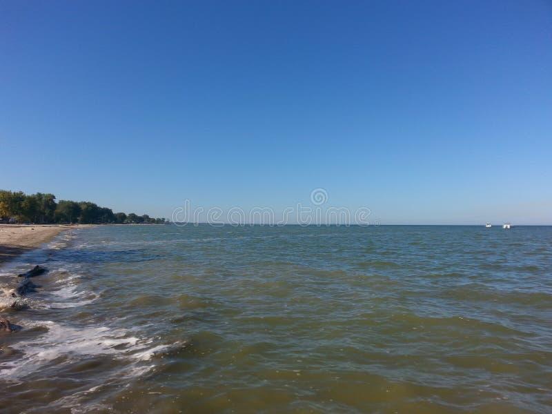 Il lago Huron fotografia stock libera da diritti