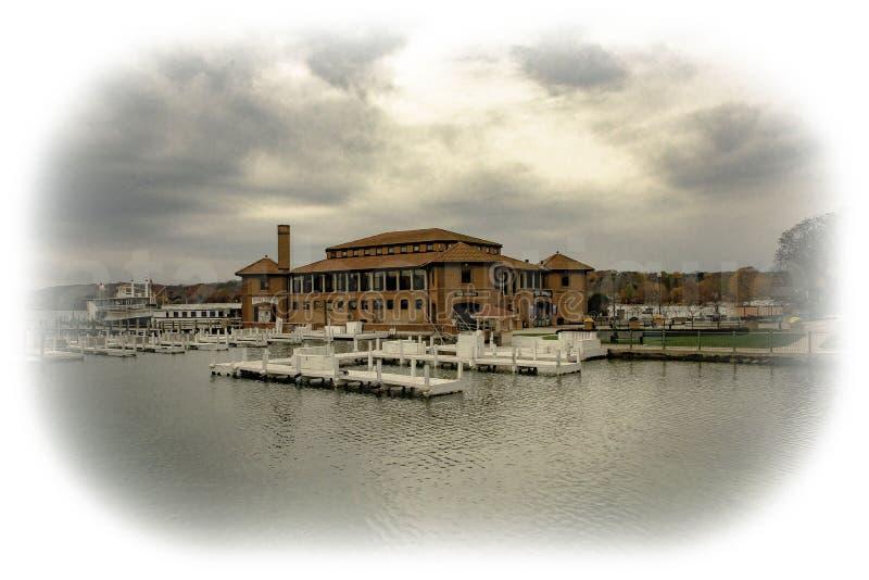 Il lago Lemano Riviera fotografia stock libera da diritti