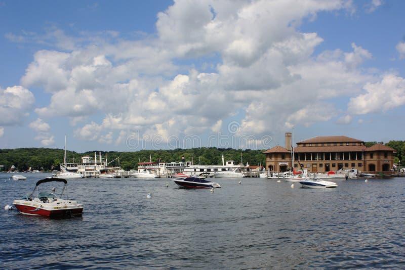 Il lago Lemano, WI immagine stock libera da diritti