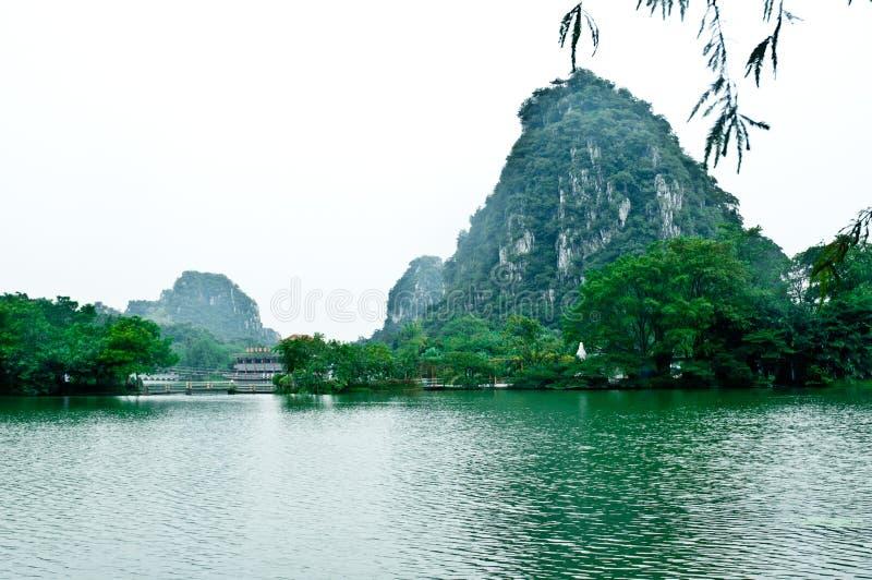 Il lago star fotografia stock