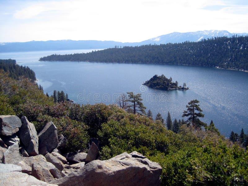 Il lago Tahoe immagini stock libere da diritti