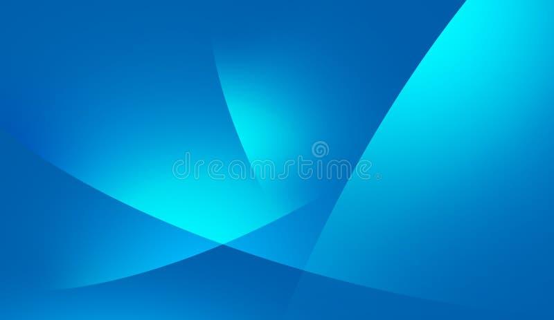 Il lato blu della vita royalty illustrazione gratis