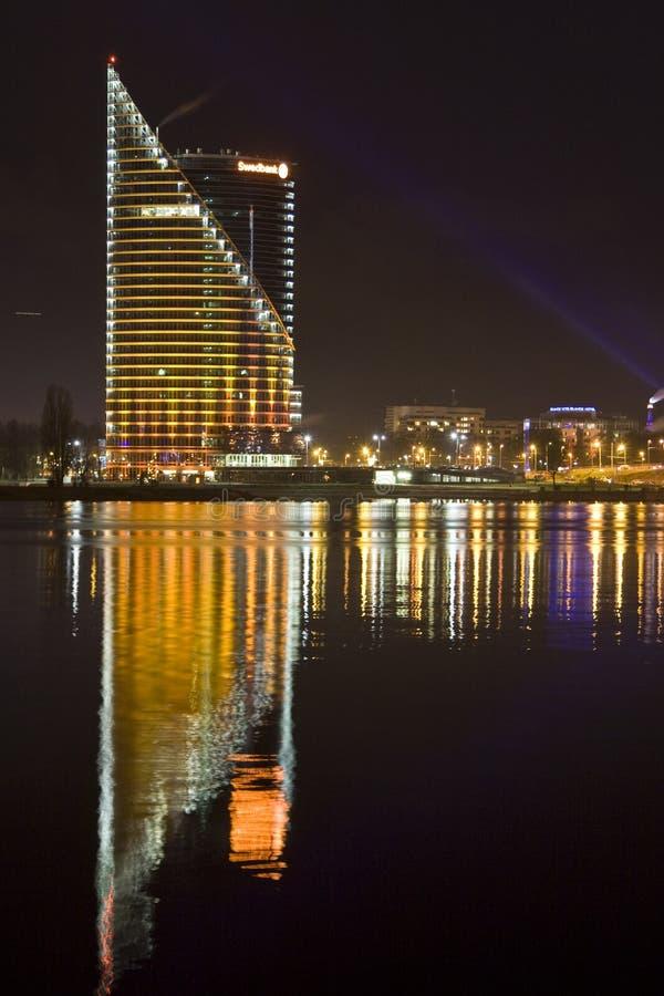 Il Latvia, Riga novantesima immagine stock