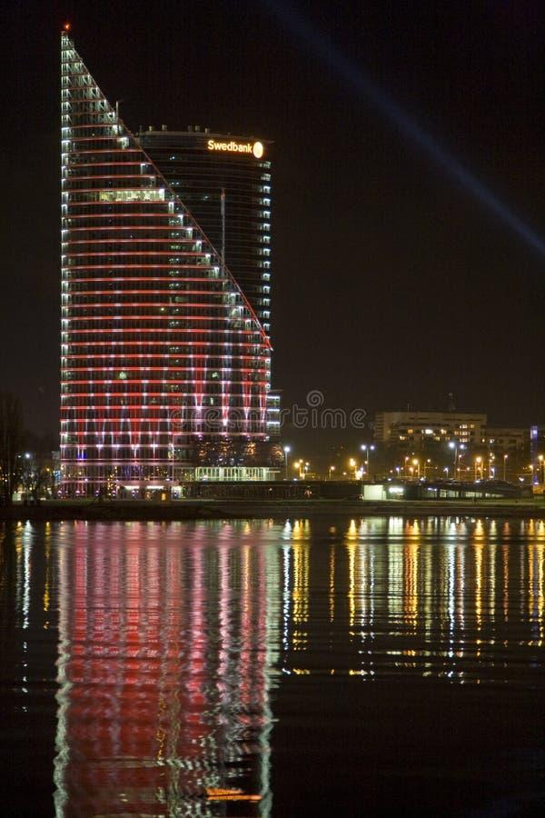Il Latvia, Riga novantesima fotografie stock libere da diritti