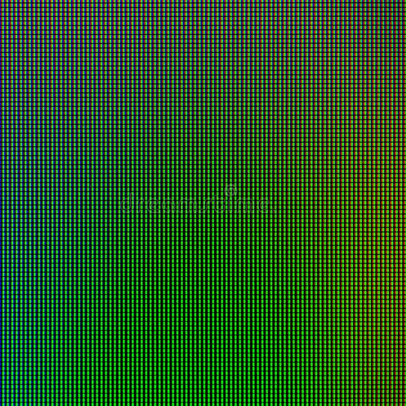 Il LED si accende dal pannello della visualizzazione del monitor del computer per il modello grafico del sito Web progettazione d immagine stock