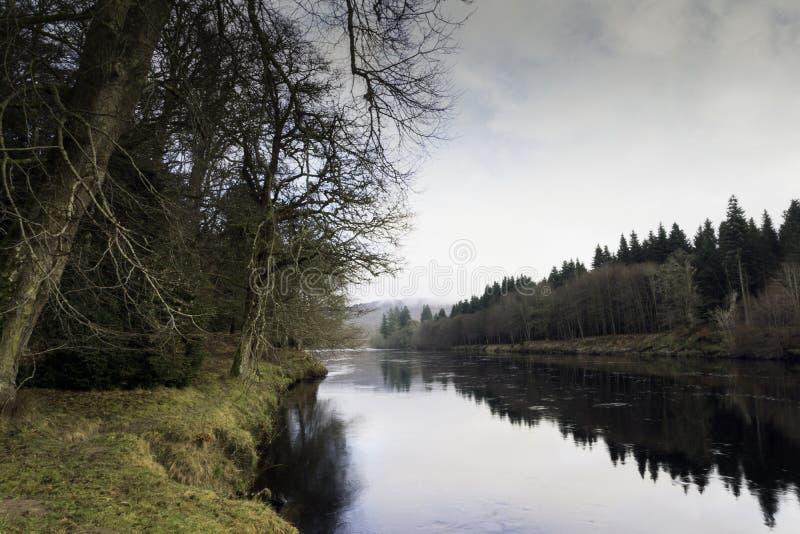 Il legame del fiume fotografia stock