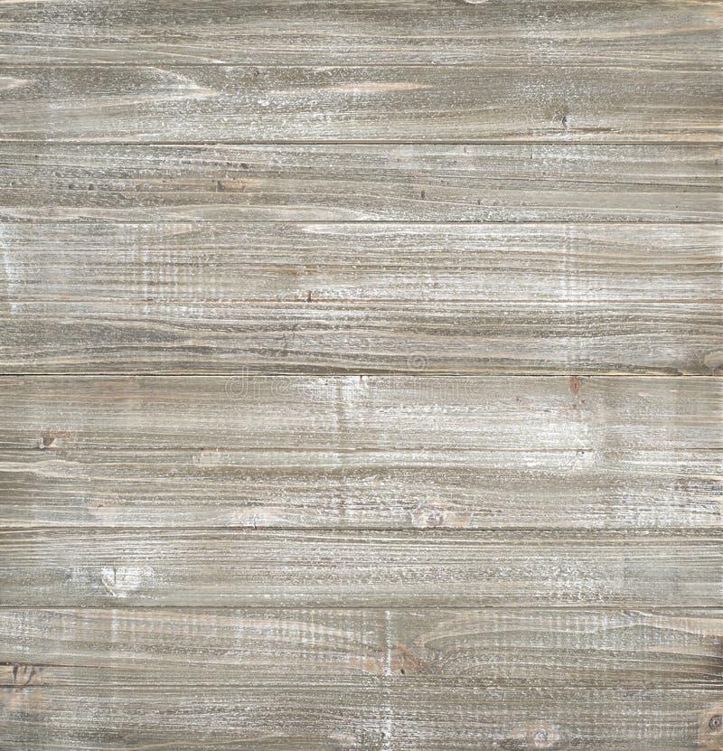 Il legno di Shiplap si imbarca sul fondo con i toni marroni, bianchi e grigi Quasi quadrato con area in bianco per le vostra paro immagini stock libere da diritti