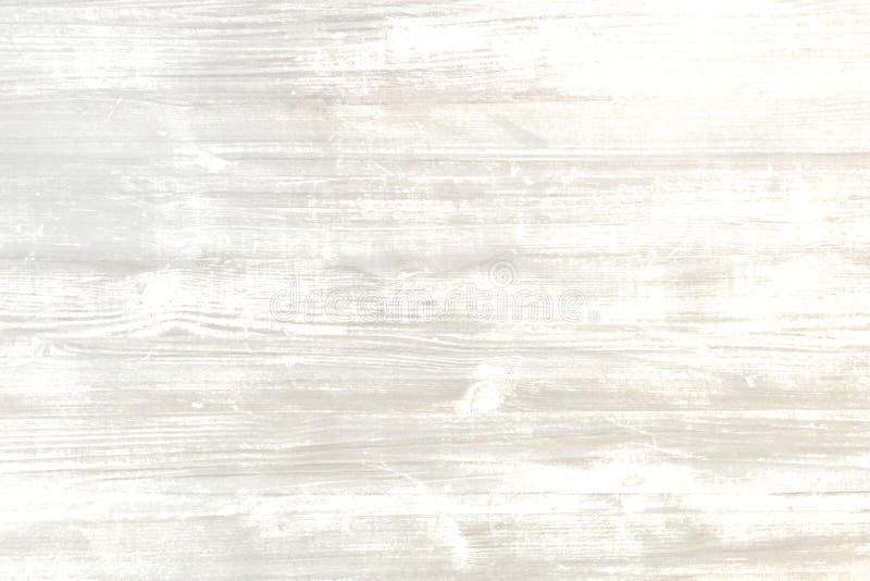 Il legno ha lavato il fondo, struttura astratta di legno bianca illustrazione di stock
