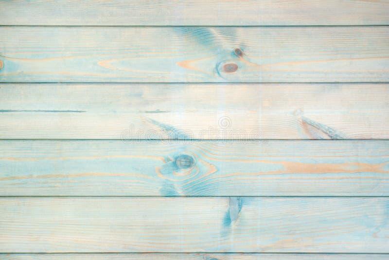 Il legno ruvido colorato blu si imbarca sulla struttura immagini stock