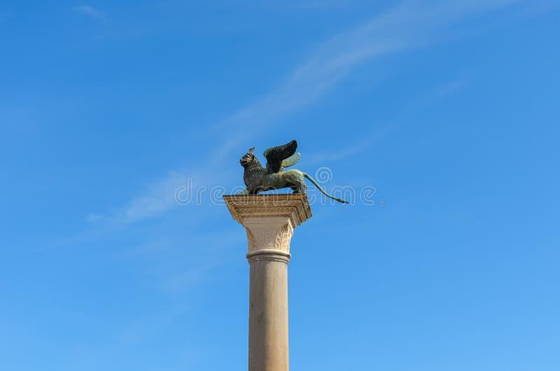 Il leone di San Marco fotografie stock