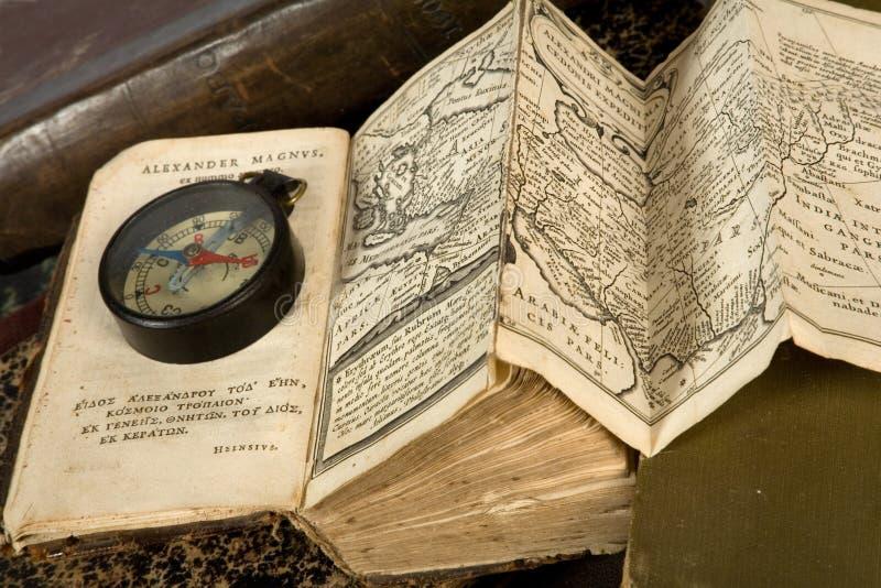 Il libro è pubblicato in 1633 fotografia stock libera da diritti