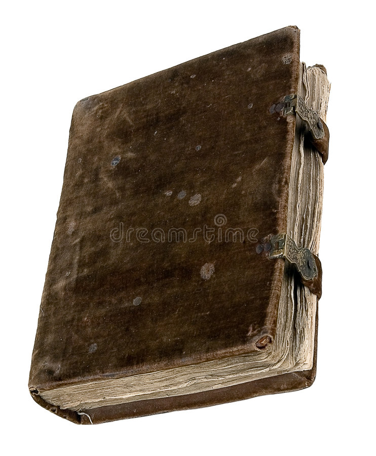 Il libro antico immagini stock