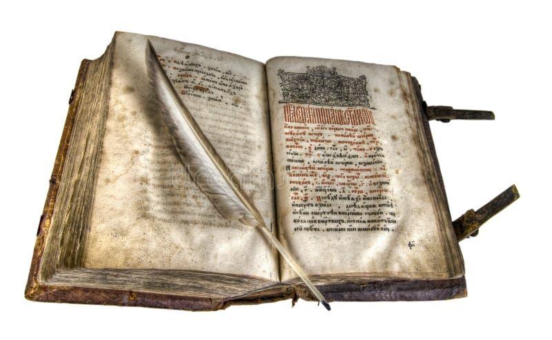 Il libro antico fotografia stock libera da diritti
