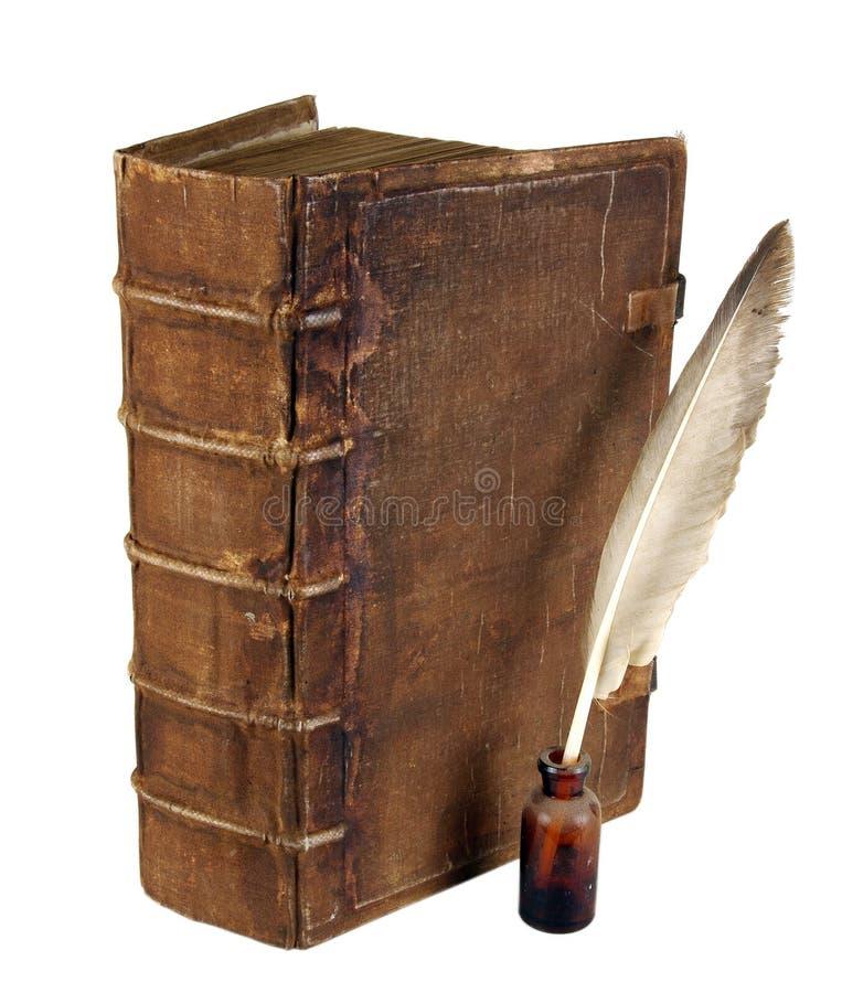 Il libro antico fotografia stock