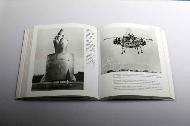 Il libro di fotografia di Nick Yapp, il telaio del letto di volo, Inghilterra ha nominato Rolls Royce per spingere l'Misurare-ane immagine stock