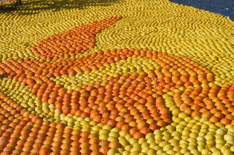 Il limone Menton 2011 celebra fotografia stock
