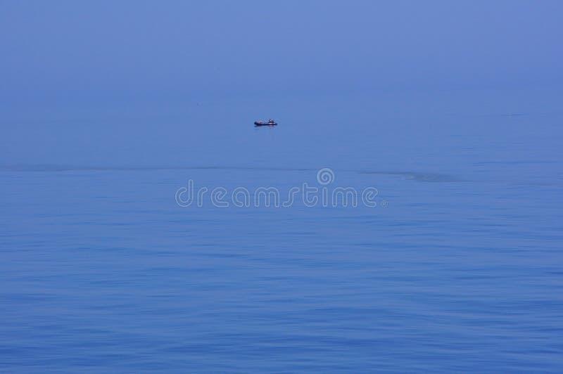 Il litorale del Mar Nero in Romania fotografia stock libera da diritti